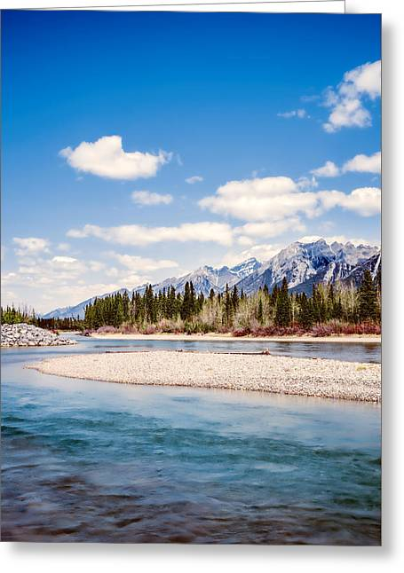 Bedroom Art Greeting Cards - Alberta Beauty Greeting Card by Carol  Lux Photography