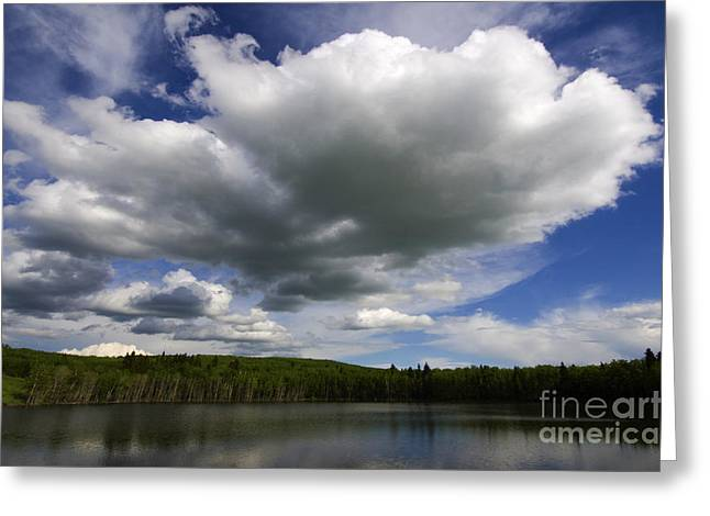 Alberta Foothills Landscape Greeting Cards - Alberta Bound 3 Greeting Card by Bob Christopher