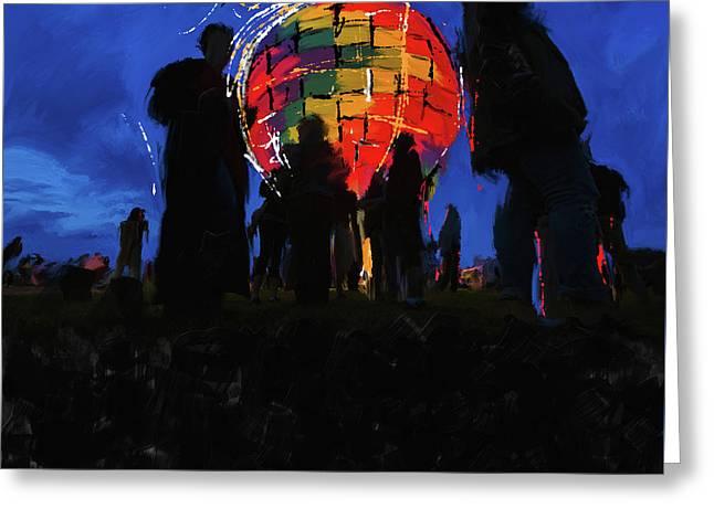Albuquerque International Balloon Fiesta 251 1 Greeting Card by Mawra Tahreem