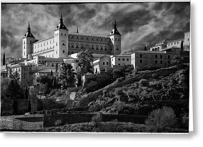 Civil Greeting Cards - Alcazar Greeting Card by Joan Carroll