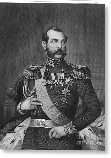 Sideburns Photographs Greeting Cards - Alexander Ii (1818-1881) Greeting Card by Granger