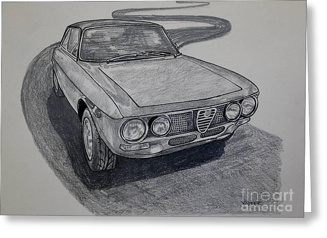 Alfa Romeo Gtv  Greeting Card by Robert Yaeger