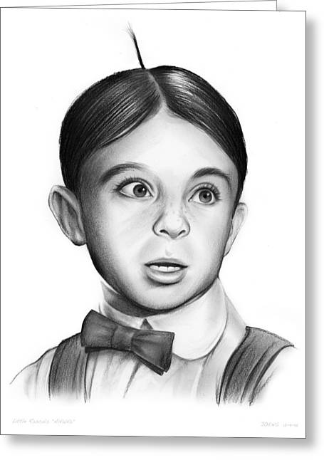 Alfalfa Greeting Card by Greg Joens