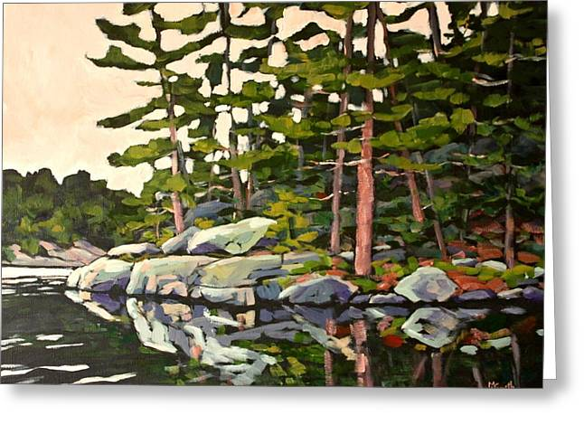 Algonquin Reflections Greeting Card by Mary Lynn Smith