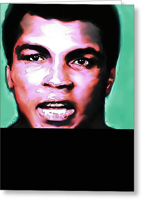 Ali The Greatest - R I P  Greeting Card by Enki Art