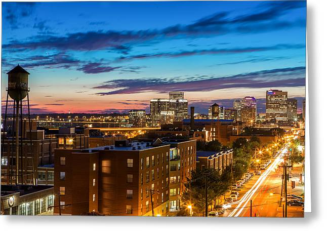 Alive At Night Greeting Card by Tim Wilson
