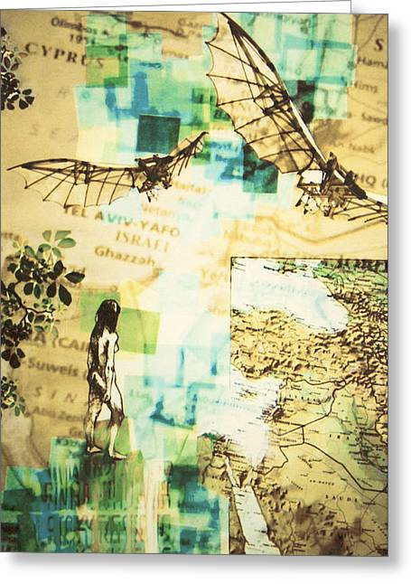 Bible Greeting Cards - Aliyah Greeting Card by Janet Farnquist