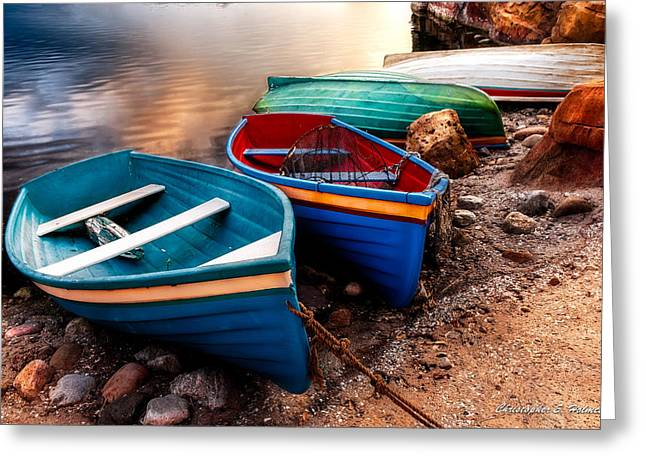 All Ashore Greeting Card by Christopher Holmes