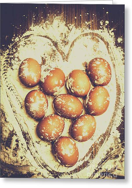 All Heart In Baking Cakes Greeting Card by Jorgo Photography - Wall Art Gallery