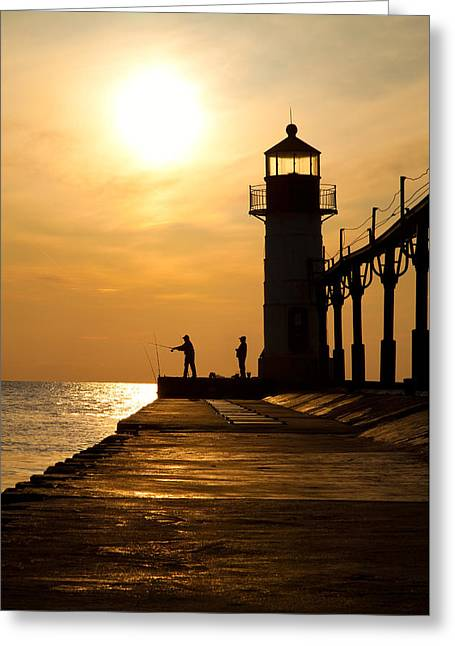 Saint Joseph Greeting Cards - All is Well Greeting Card by Ken Koskela