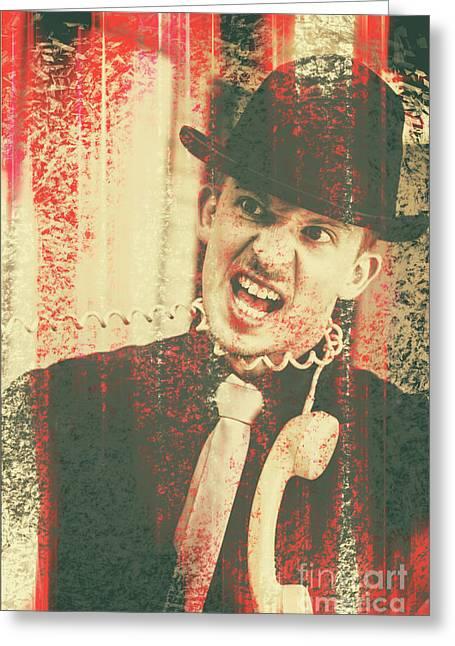 Profanity Greeting Cards - All wires crossed Greeting Card by Ryan Jorgensen