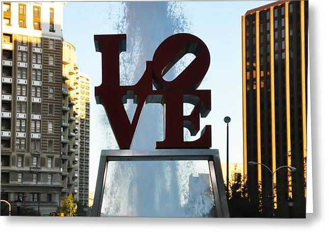 All You Need Is Love Greeting Card by Bill Cannon