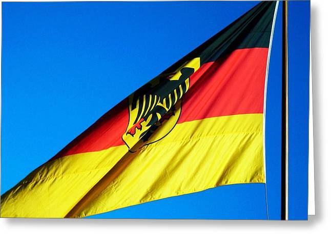 Himmel Greeting Cards - Allemagne ... Greeting Card by Juergen Weiss
