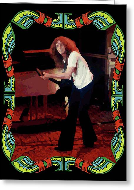 Enhanced Greeting Cards - Allen Collins Winterland  Greeting Card by Ben Upham