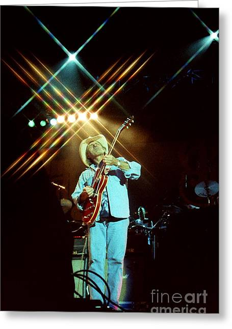 Famous Artist Greeting Cards - Allman Brothers-Dickey-1055 Greeting Card by Gary Gingrich Galleries