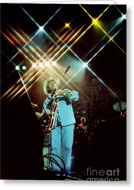 Famous Artist Greeting Cards - Allman Brothers-Dickey-1056 Greeting Card by Gary Gingrich Galleries