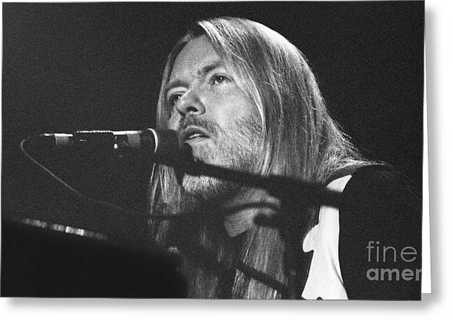 Recently Sold -  - ist Photographs Greeting Cards - Allman Brothers-Gregg-0172 Greeting Card by Gary Gingrich Galleries