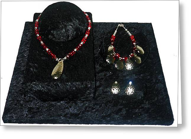 Tackle Jewelry Greeting Cards - Alluring Greeting Card by Kelley Sheldon