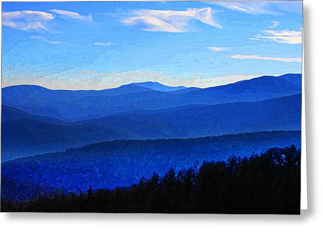 Scenic Drive Greeting Cards - Almost Heaven Greeting Card by Joe Paradis