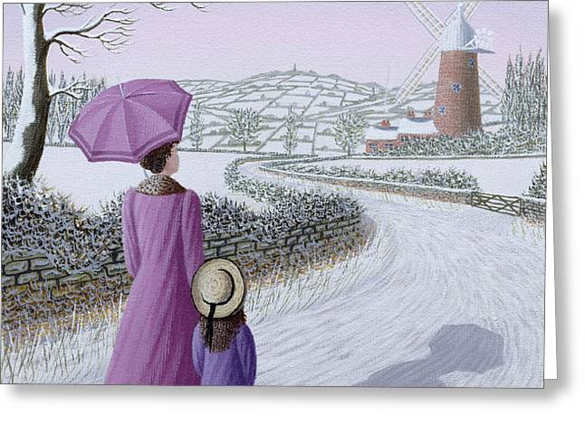 Almost Home Greeting Card by Peter Szumowski