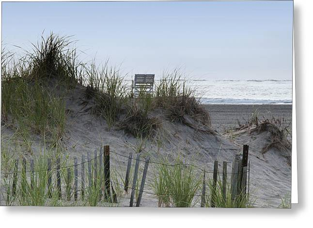 Sand Dunes Digital Greeting Cards - Almost to the Beach Greeting Card by Bill Cannon