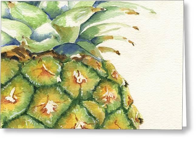 Aloha Greeting Card by Marsha Elliott