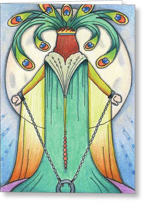 Destiny Greeting Cards - Alone At Moonrise Greeting Card by Amy S Turner