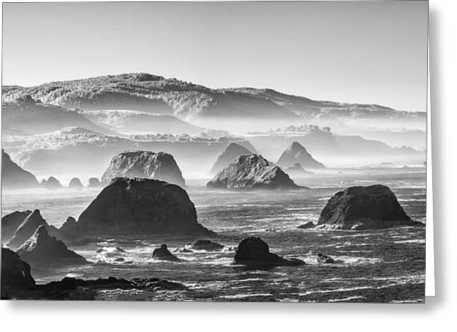 Along The California Coast Greeting Card by Jon Glaser