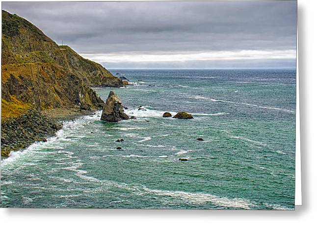 Recently Sold -  - Pch Greeting Cards - Along the Coast Highway Greeting Card by Joseph Hollingsworth