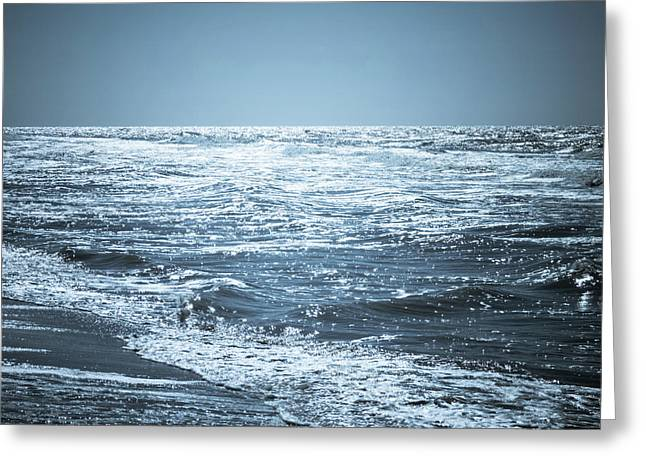 Along The Shore Greeting Card by Wim Lanclus