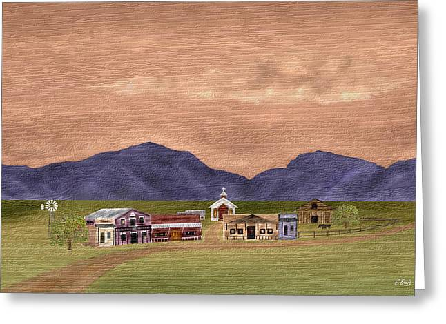 Cave Creek Western Greeting Cards - Along the Way Greeting Card by Gordon Beck