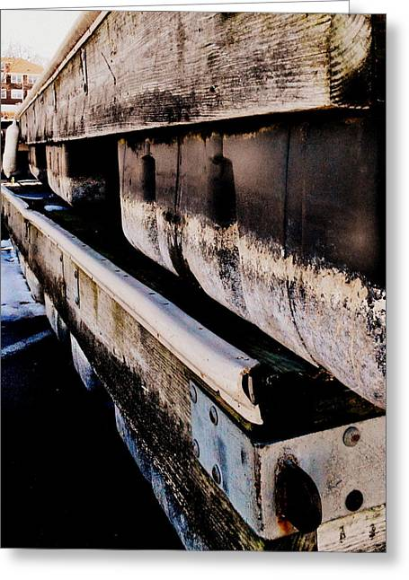 New Greeting Cards - Alongside Dock Greeting Card by Dani Mag
