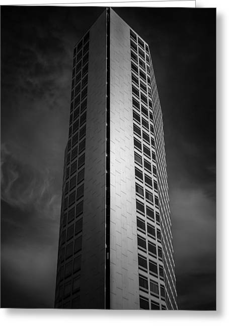 Birmingham Greeting Cards - Alpha Tower Greeting Card by Chris Fletcher
