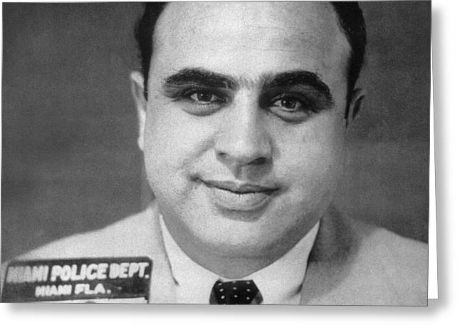 ALPHONSE CAPONE (1899-1947) Greeting Card by Granger
