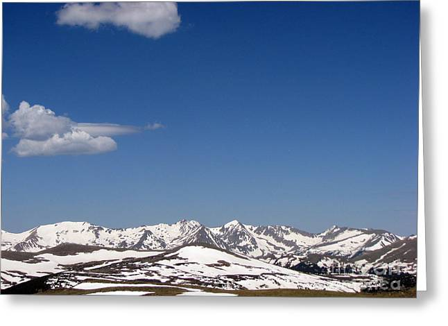 Alpine Tundra Series Greeting Card by Amanda Barcon
