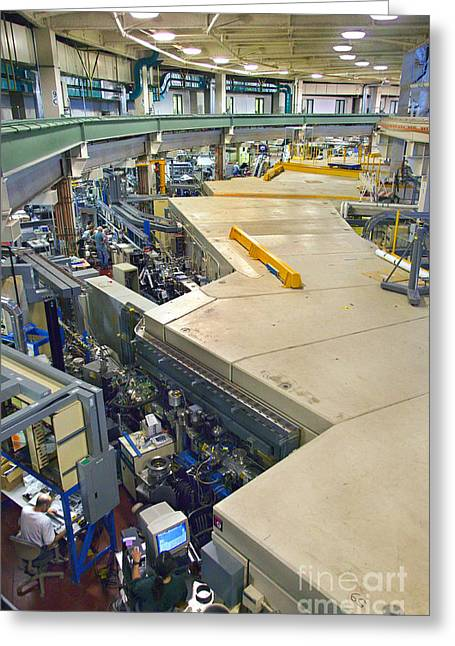 Als Beamlines And Inner Ring Greeting Card by Science Source
