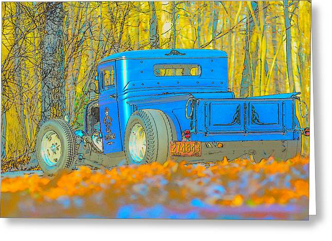 Slam Greeting Cards - Alternate view Greeting Card by High Octane  Image