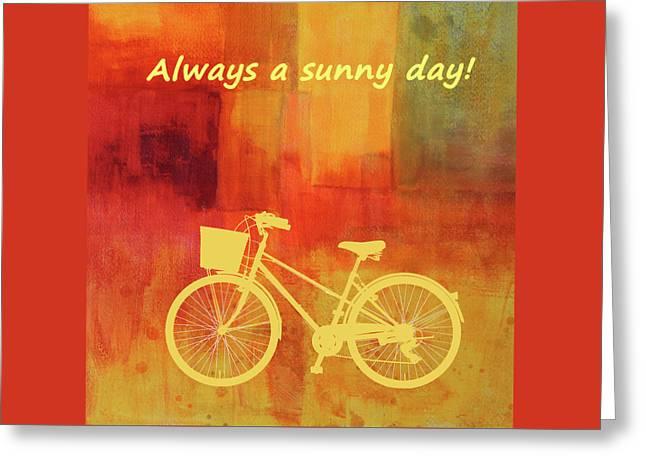 Always A Sunny Day Greeting Card by Nancy Merkle