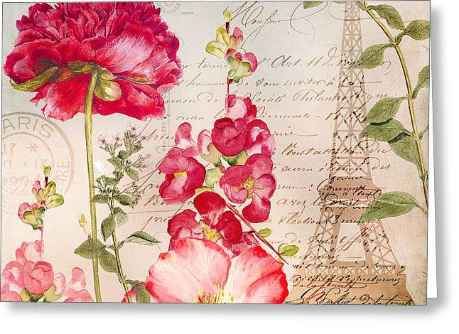 Always Paris II Greeting Card by Mindy Sommers