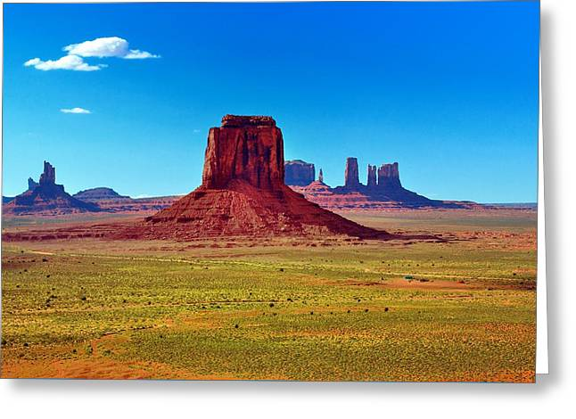 Mitchell Butte Greeting Cards - Always  Greeting Card by Ruben Barbosa