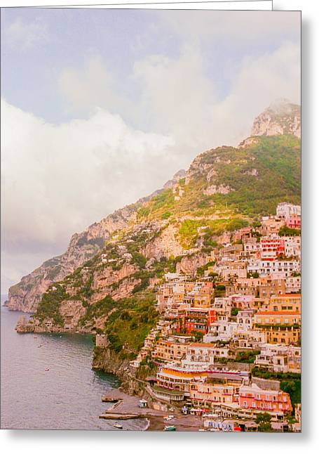 Amalfi Coast Italy 2 Greeting Card by Ariane Moshayedi