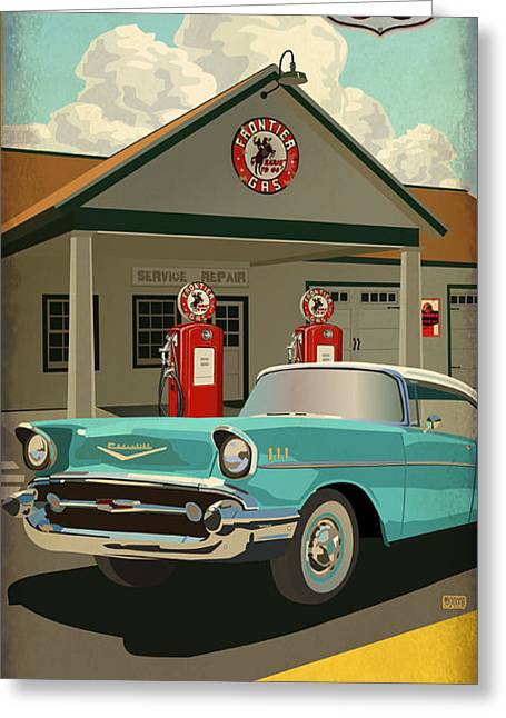 Amarillo Greeting Cards - Amarillo Texas  Greeting Card by Jim Sanders
