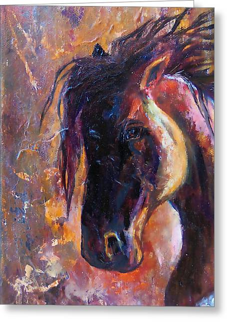 Chatham Greeting Cards - Amber Dawn Greeting Card by Karen Kennedy Chatham