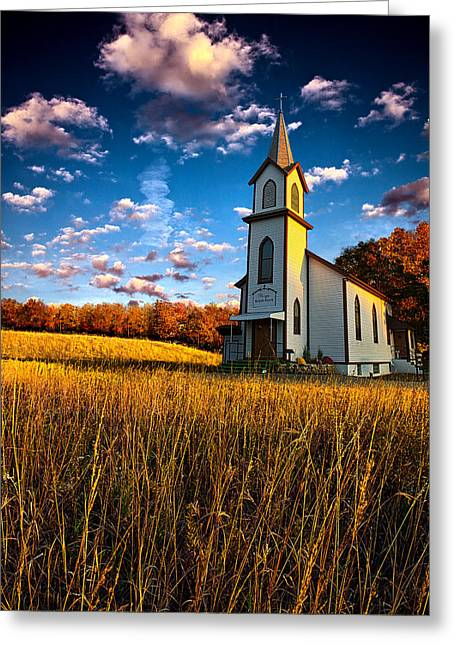 Chapel Photographs Greeting Cards - Amen Greeting Card by Phil Koch