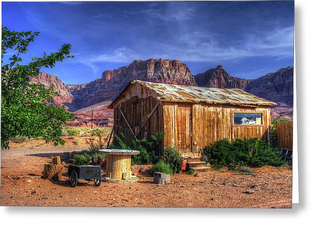 Hdr Landscape Greeting Cards - American Beauty Greeting Card by Craig Incardone