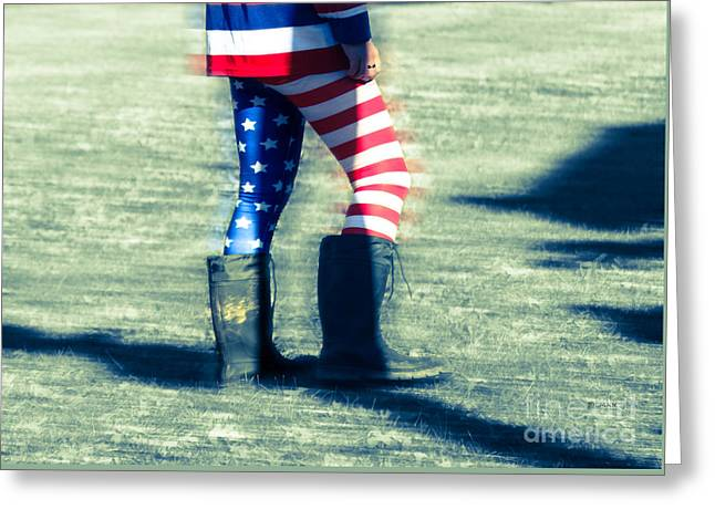 American Fashion  Greeting Card by Steven  Digman