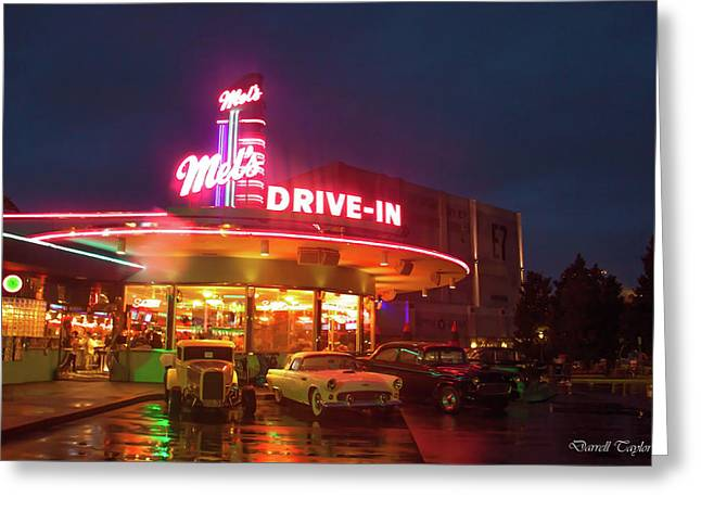 American Graffiti Pic 33 Greeting Card by Darrell Taylor