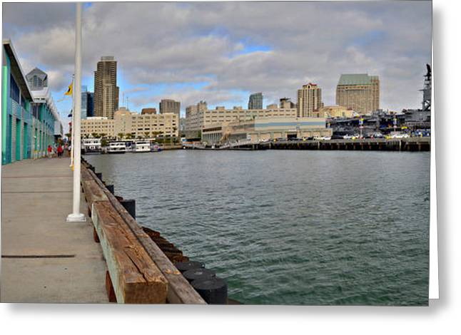 San Diego Harbor Cruise Greeting Cards - Americas Finest Port Greeting Card by See My  Photos