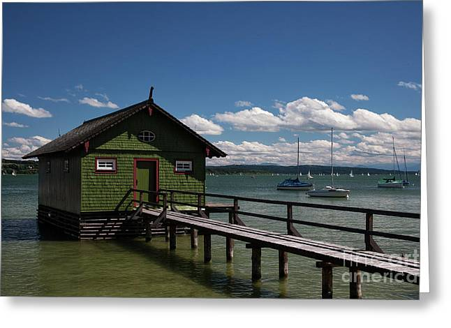 Ammersee Greeting Card by Stephen Smith