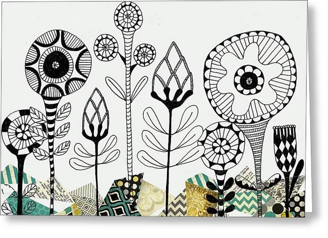 Among The Rocks Greeting Card by Lisa Noneman
